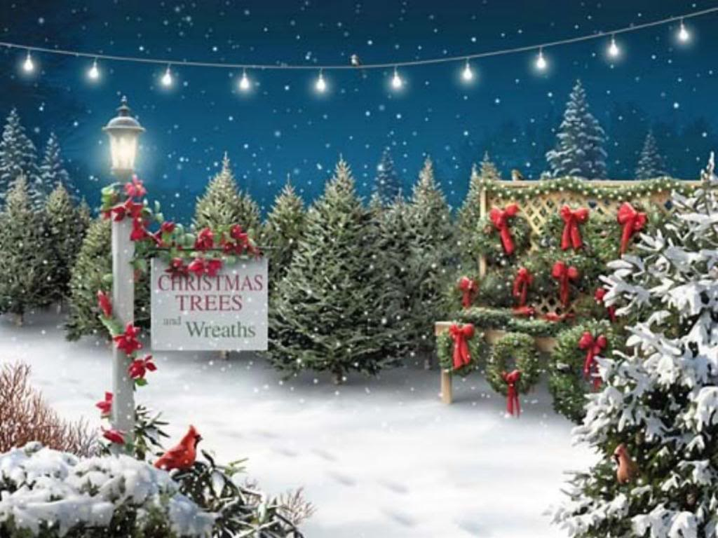Christmas Wallpaper Background Theme Desktop 1024x768