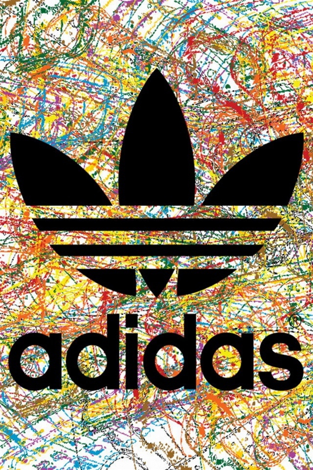 Creative graffiti adidas iPhone wallpapers Background and Themes 640x960