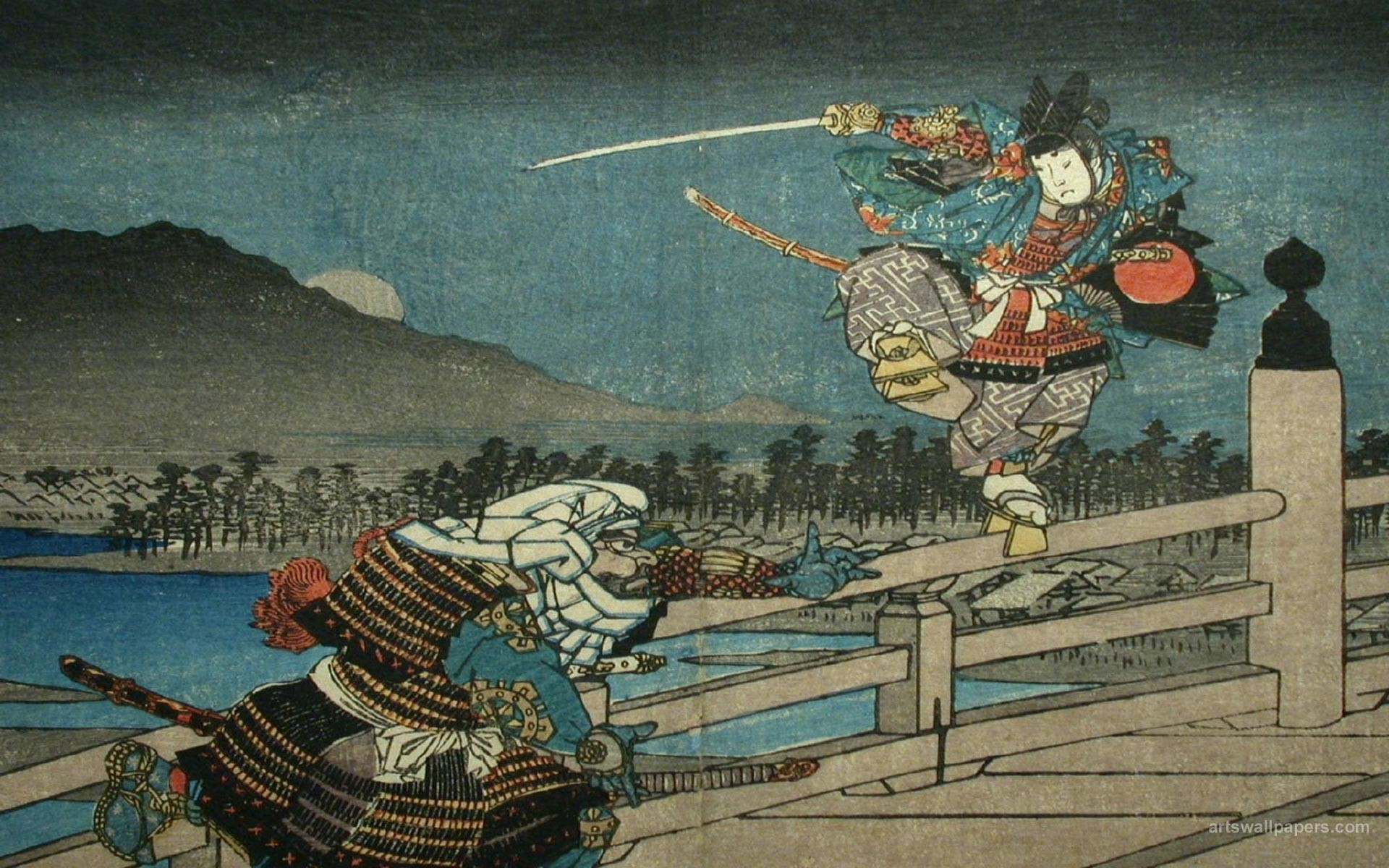 Ukiyo E Wallpapers 55 background pictures 1920x1200