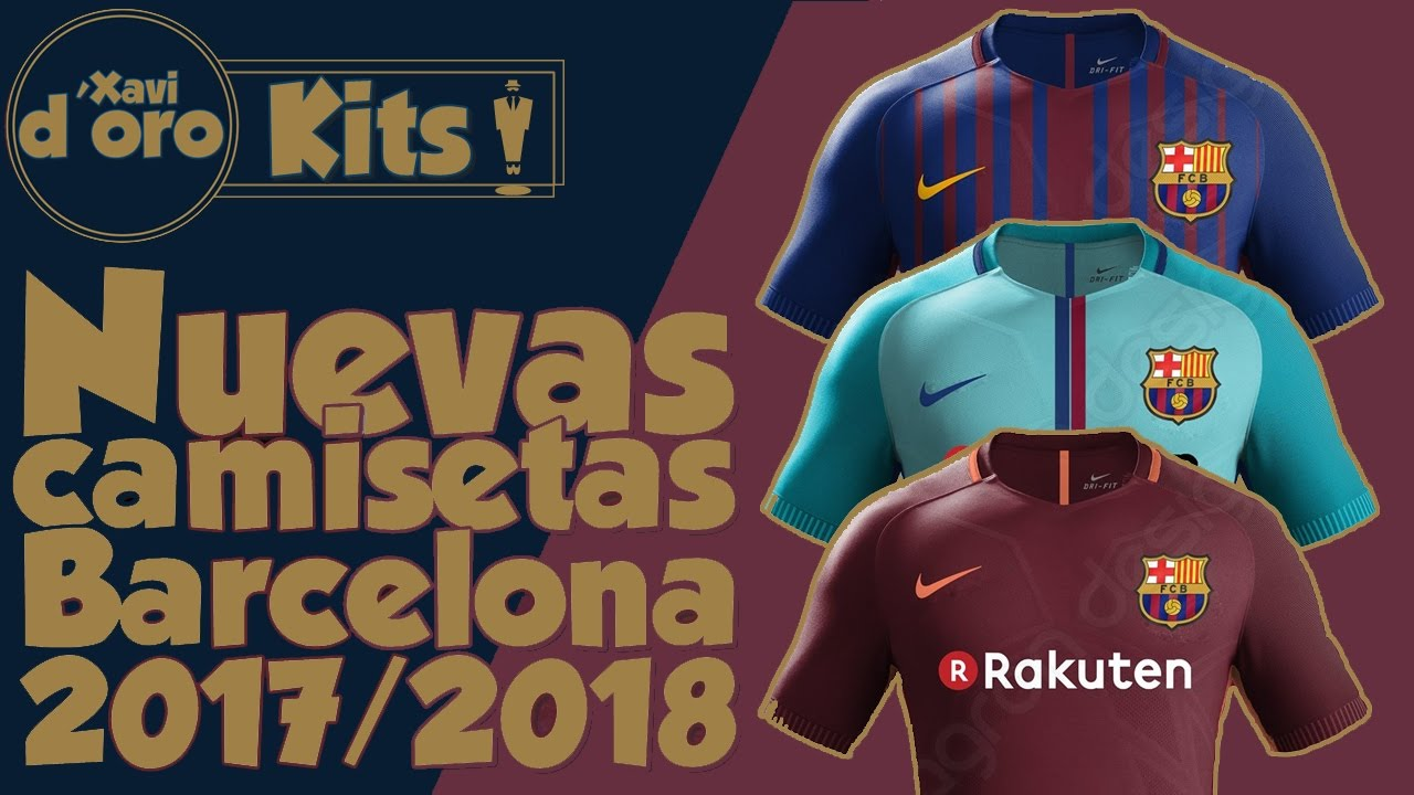 b309606edd9 Barcelona Kits 2017-2018 Wallpapers - WallpaperSafari