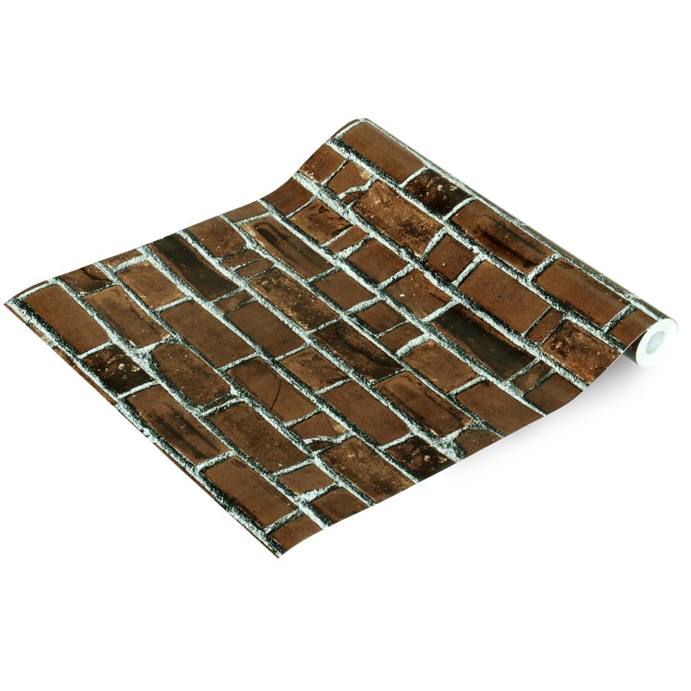 Brick Wall   Self Adhesive Wallpaper Home Decor Sample 1001x1001