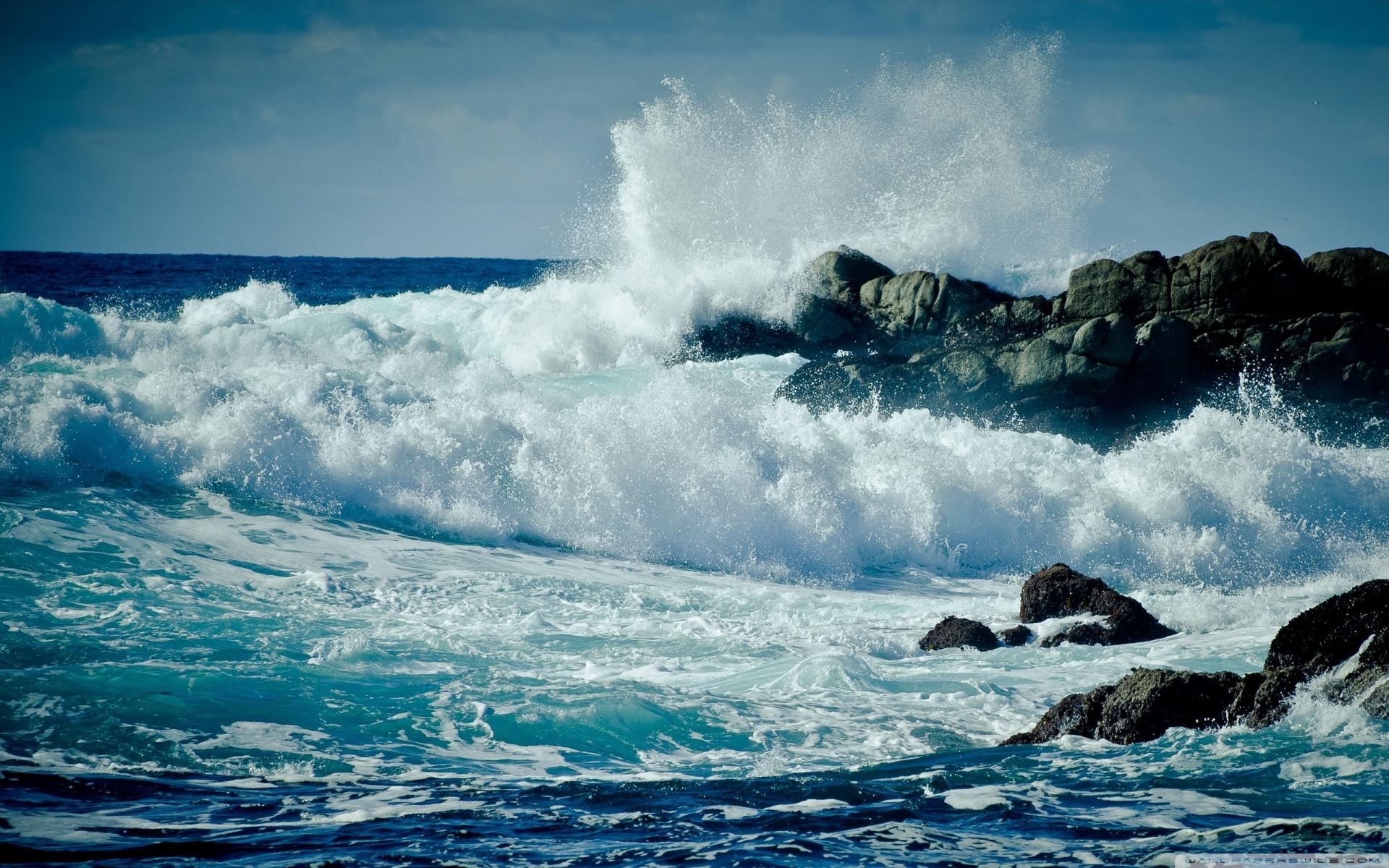 Ocean Waves Crashing   1920x1200 1920x1200