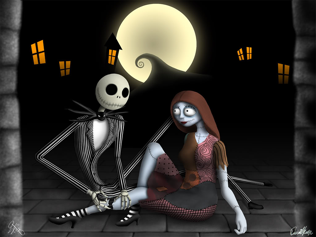 Jack And Sally Wallpapers Group 64 1024x768