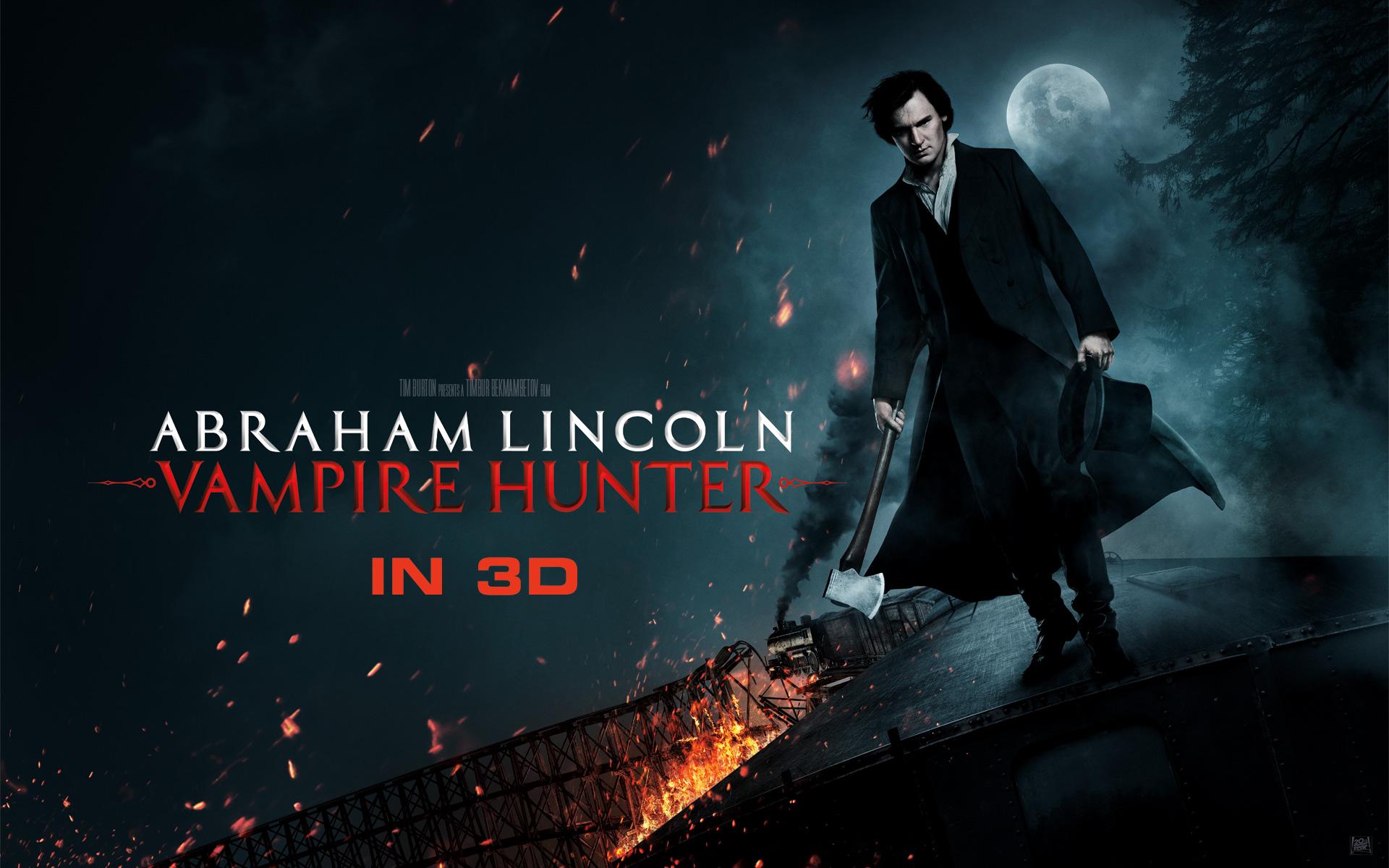 Abraham Lincoln Vampire Hunter Full HD Wallpaper and 1920x1200