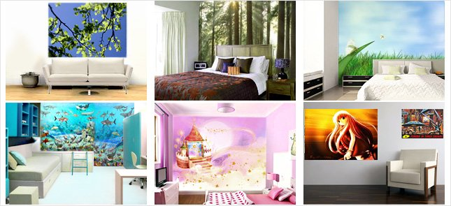Peel on Peel off Wallpaper   Removable Wall Murals and Posters Use 645x295