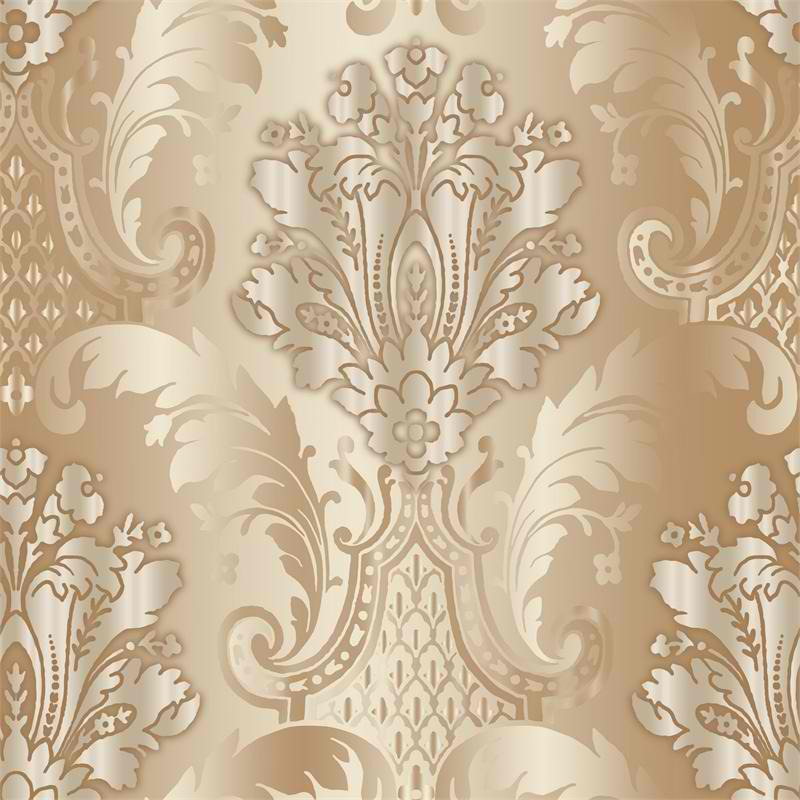 Beige Grey Juno PSN105622 Damask Wallpaper   Contemporary Modern 800x800