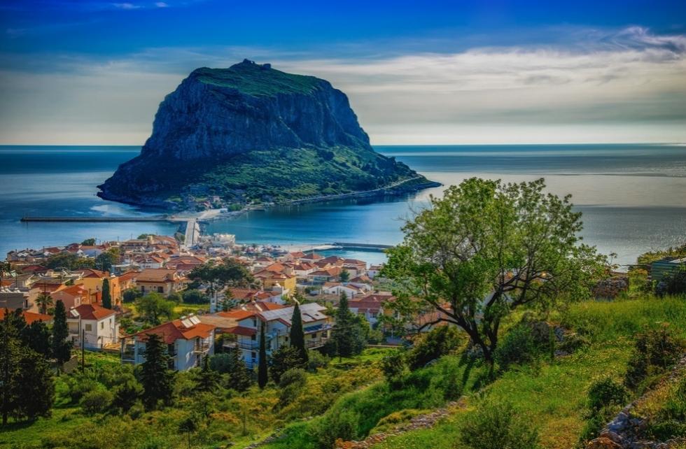 Monemvas City   Greece HD Wallpapers and Photos vivowallpaparcom 980x642