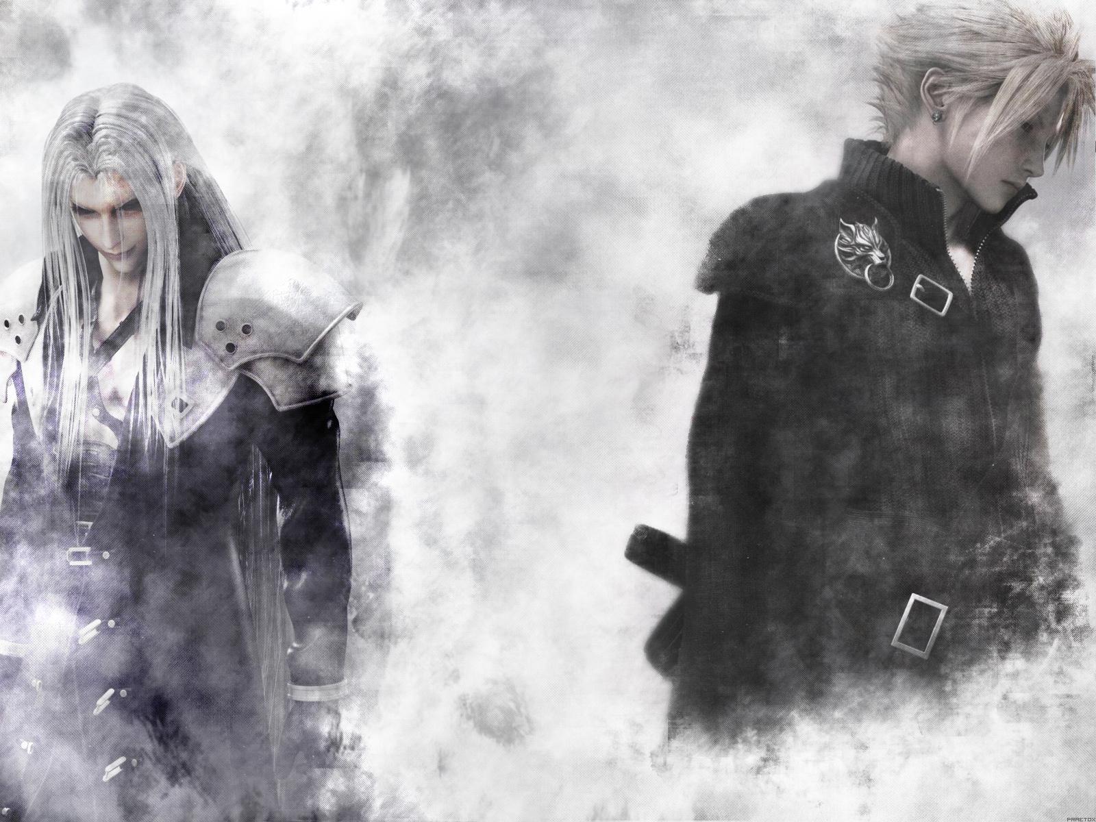 Final Fantasy VII Advent Children Sephiroth Cloud Strife 1600x1200