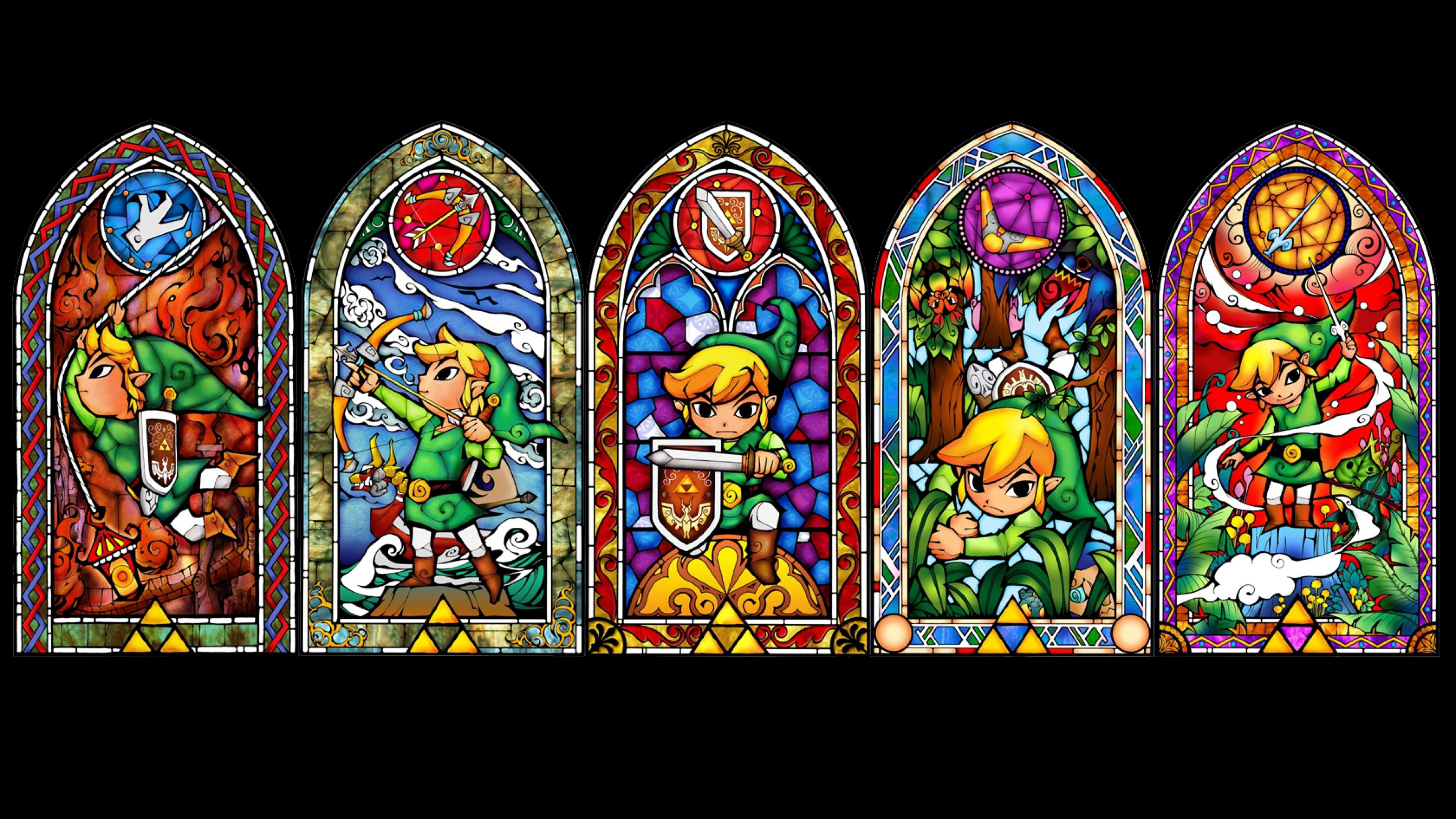 zelda Windows Elf Character Link Wallpaper Background 4K Ultra HD 3840x2160
