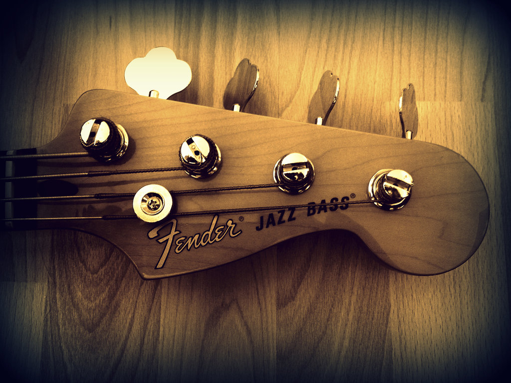 Fender Jazz Bass Wallpaper Fender jazz bass by 1024x768