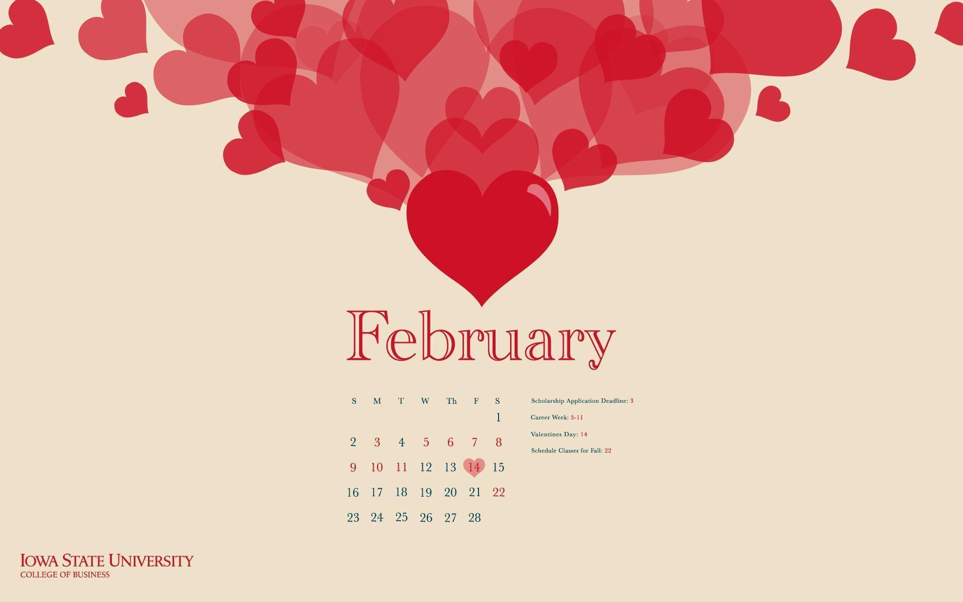 February Desktop Wallpapers 1920x1200