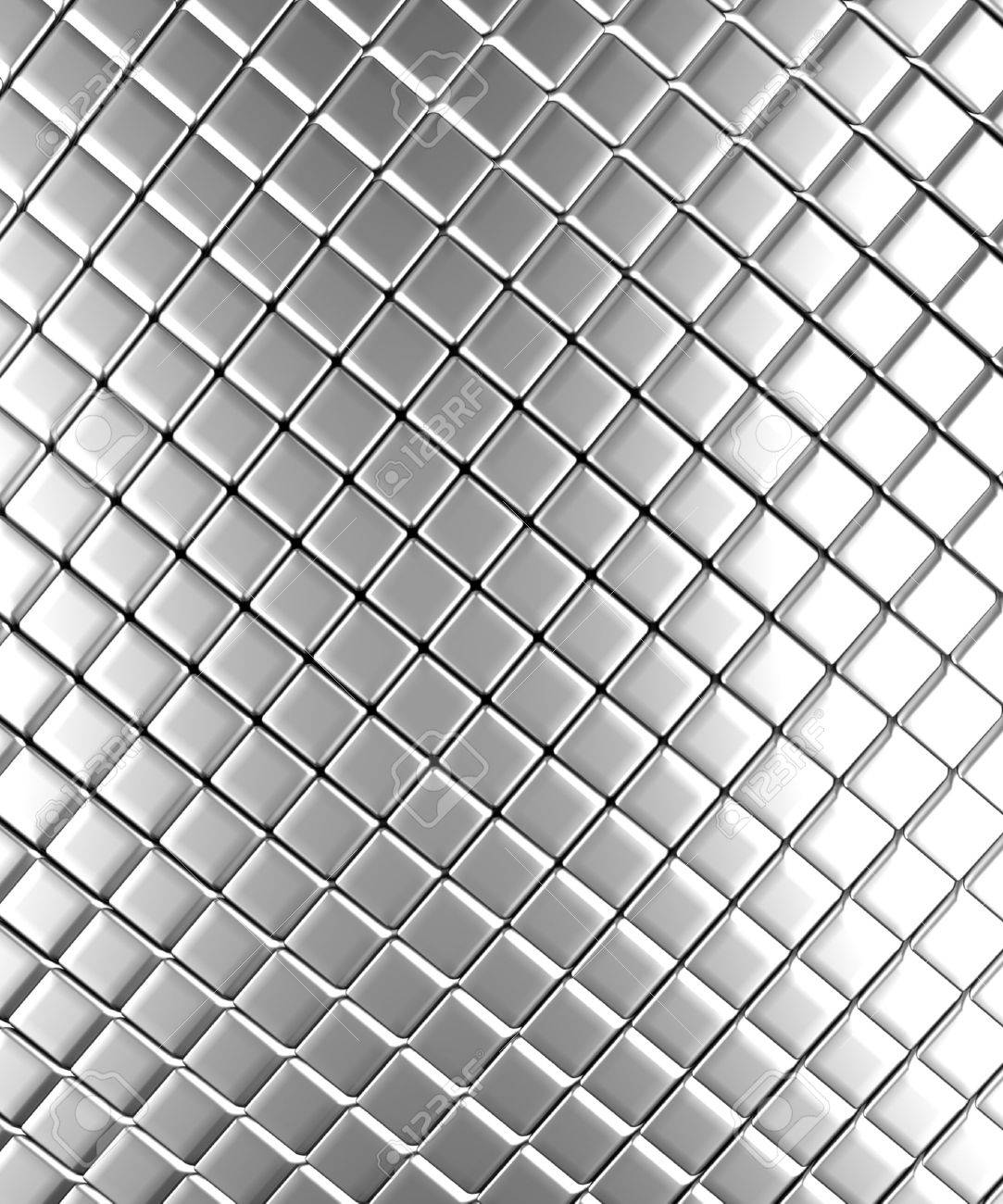 Square Pattern Aluminum Background 3d Rendered Stock Photo 1083x1300