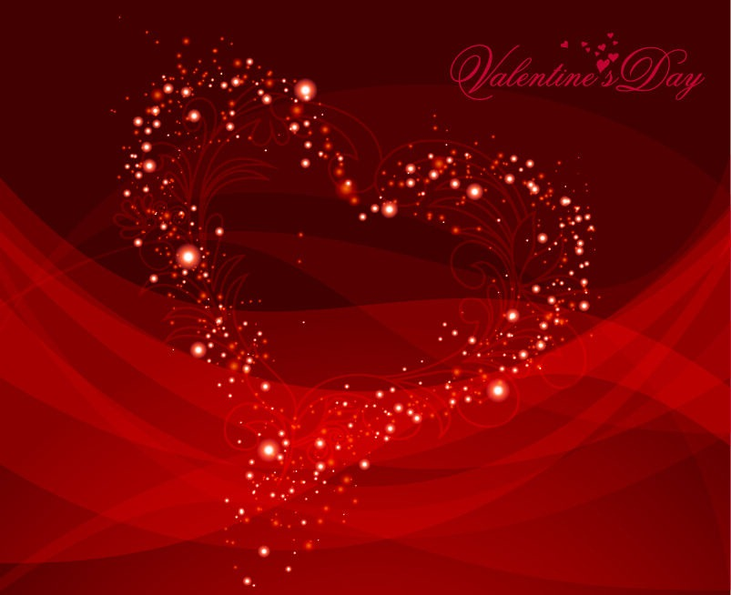 Vector Valentine Background Vector Graphics All Web 803x654