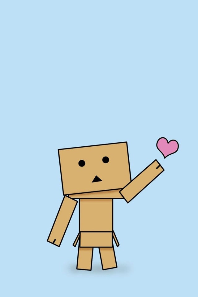 download cute box heart wallpapers for iphone 4 640x960