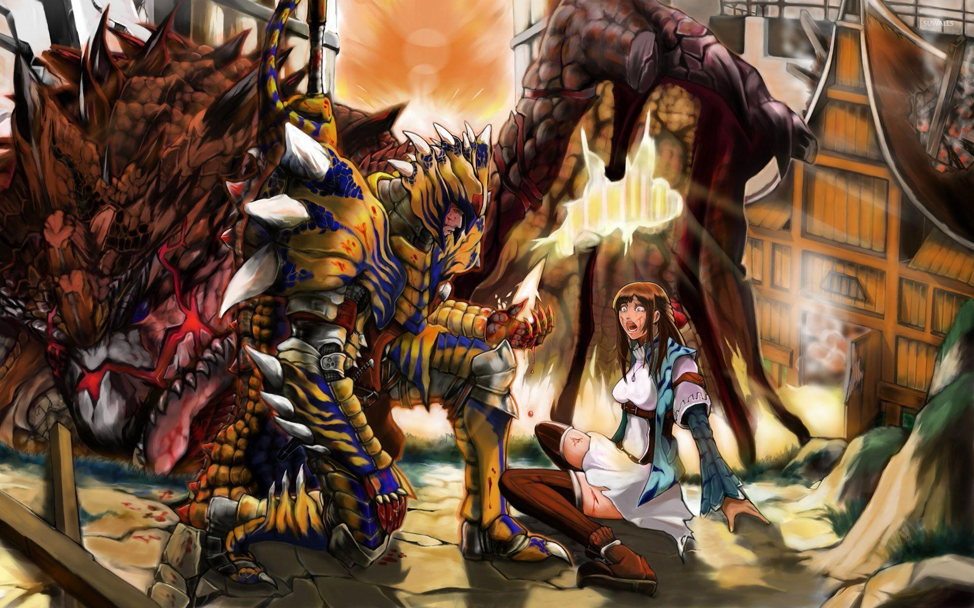 Free Download Monster Hunter Wallpaper Game Wallpapers 29271
