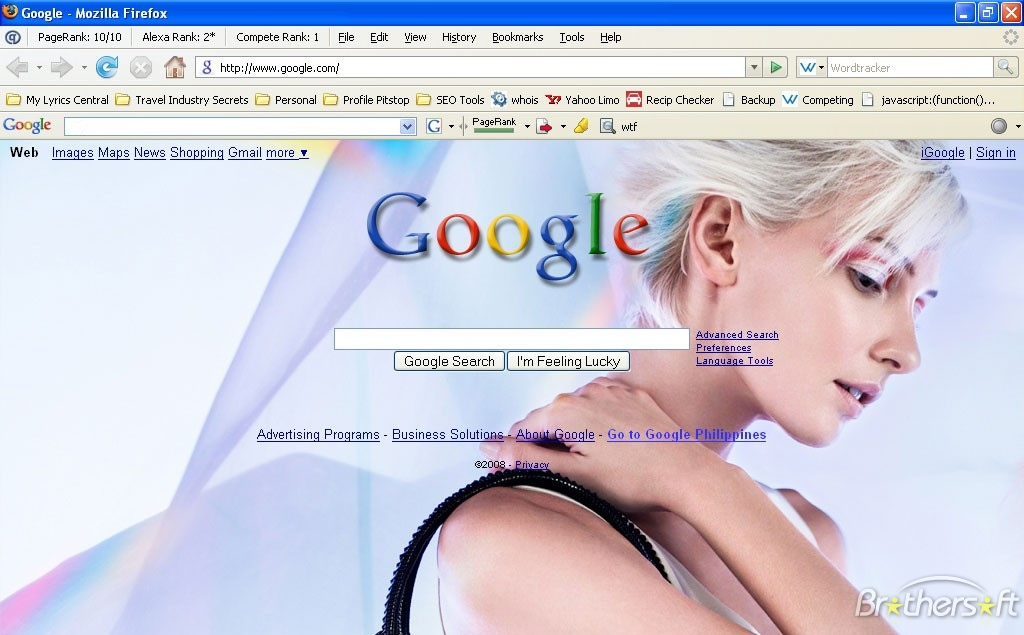 Как сделать фон в гугл