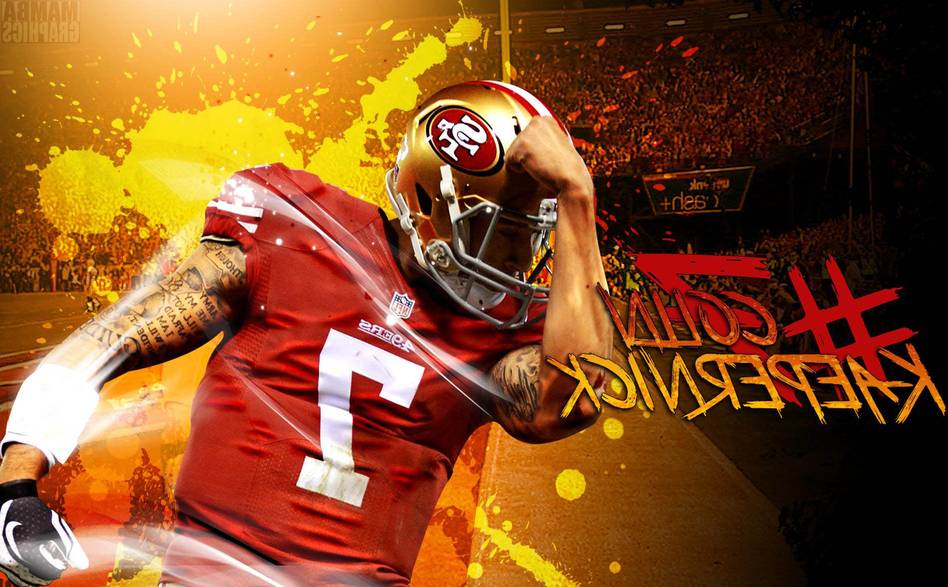 Colin Kaepernick Wallpapers HD 1900x1176