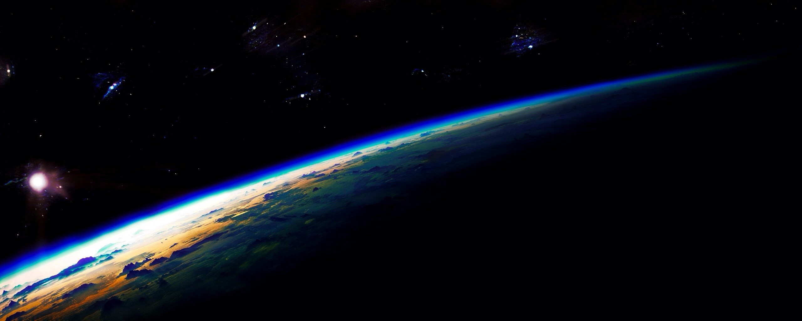 Earth From Space 5 Desktop Background - Hivewallpaper.com