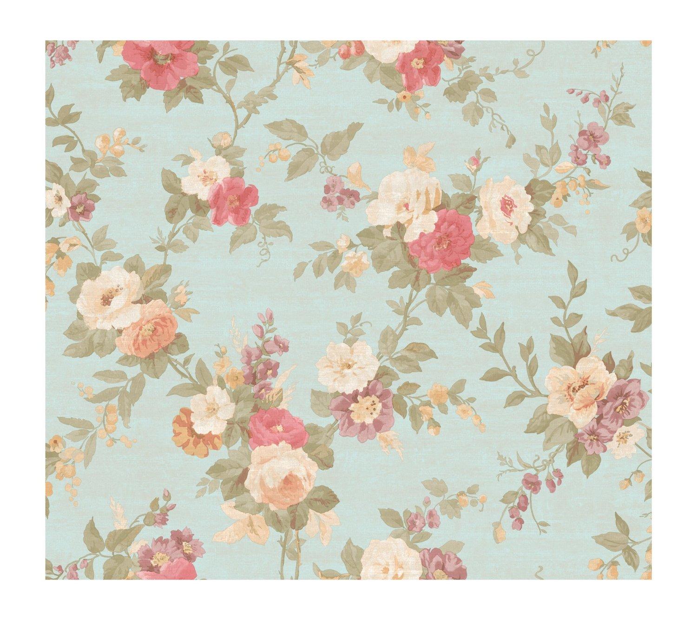 46 Vintage Roses Wallpaper On Wallpapersafari