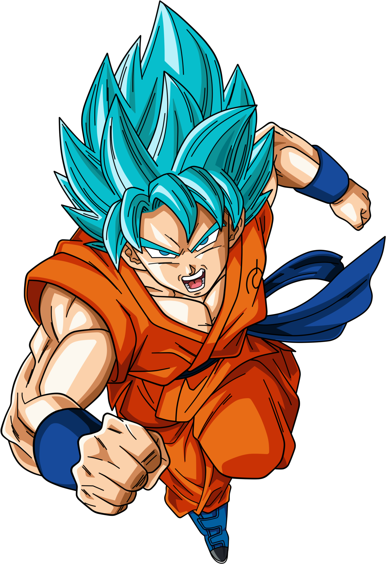 Super saiyan god goku wallpaper wallpapersafari - Goku 5 super saiyan ...