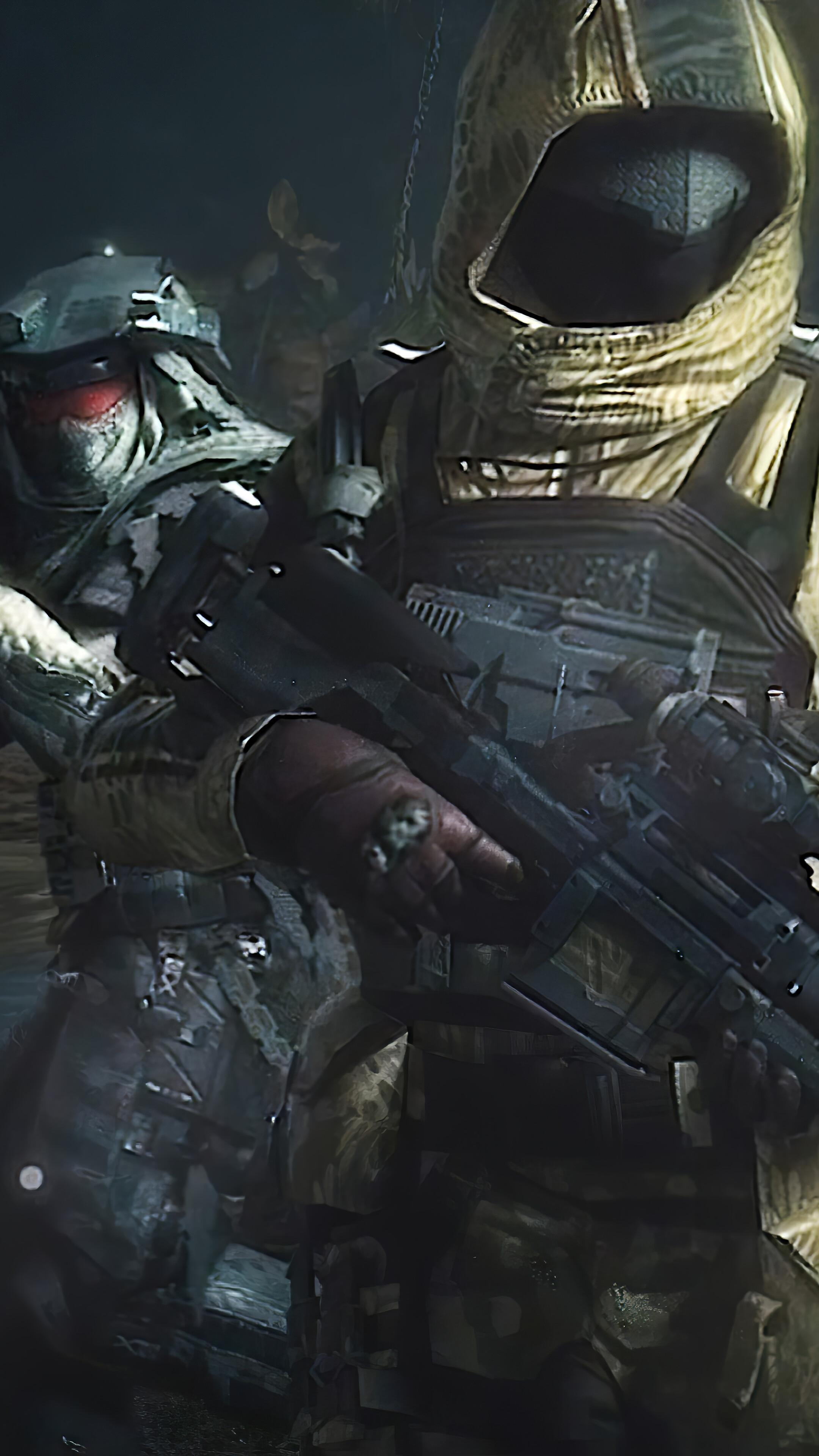 323048 Call of Duty Mobile Yellow Snake Phantom Skin 4K 2160x3840