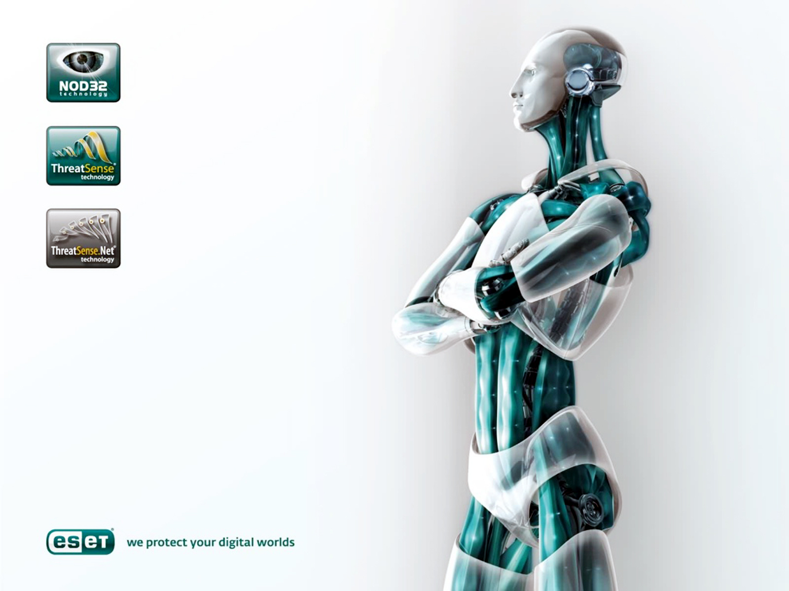 Eset Nod32 3D Robot HD Wallpapers Download Wallpapers in HD for 1600x1200