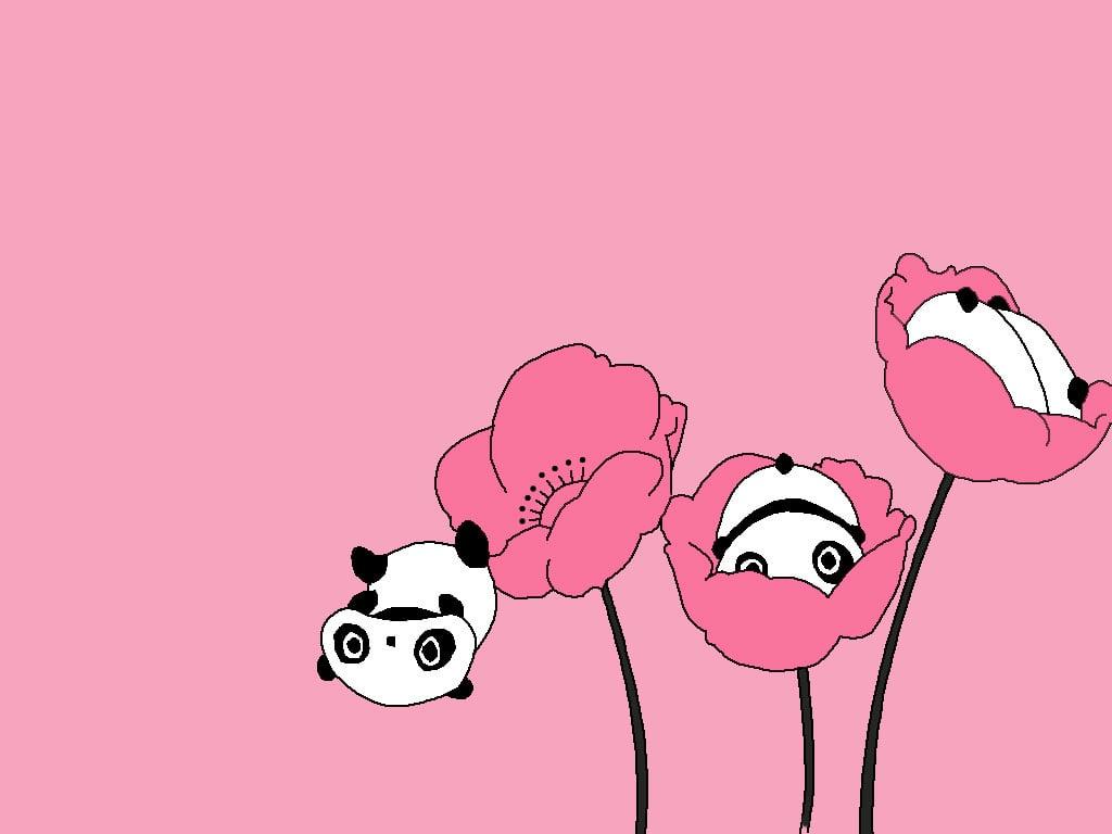 Cute panda wallpapers desktop wallpapersafari - Panda anime wallpaper ...