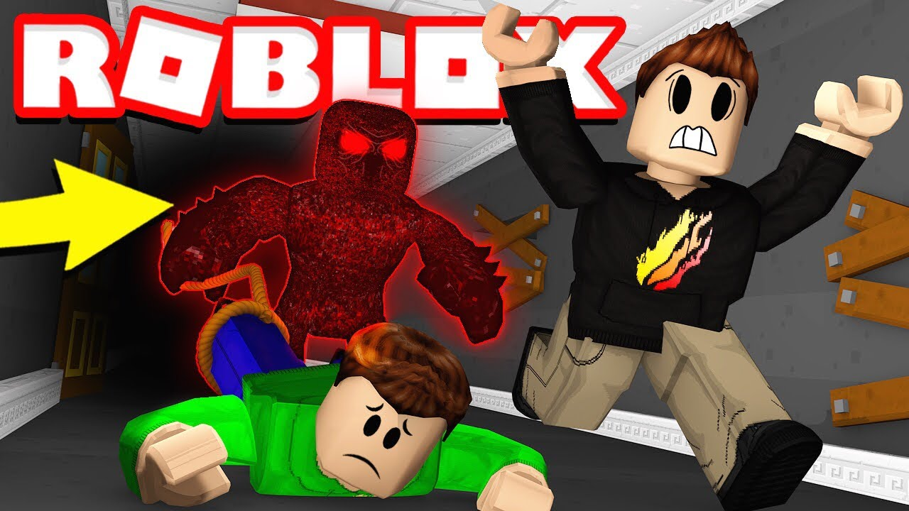 CAN MY 12 YEAR OLD LITTLE BROTHER ESCAPE THE BEAST Roblox Flee 1280x720