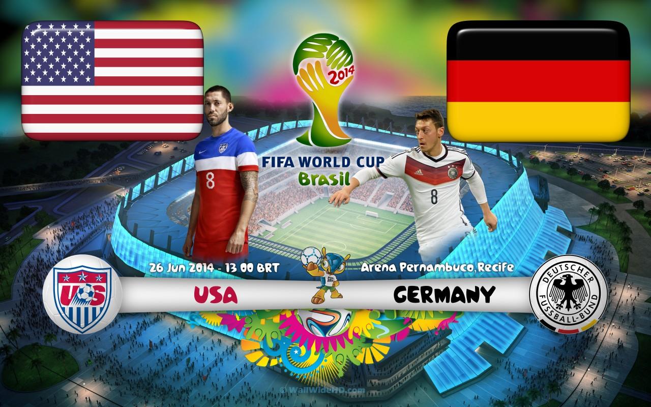 vs Germany 2014 World Cup Group G Soccer Match Wallpaper 1280x800 1280x800