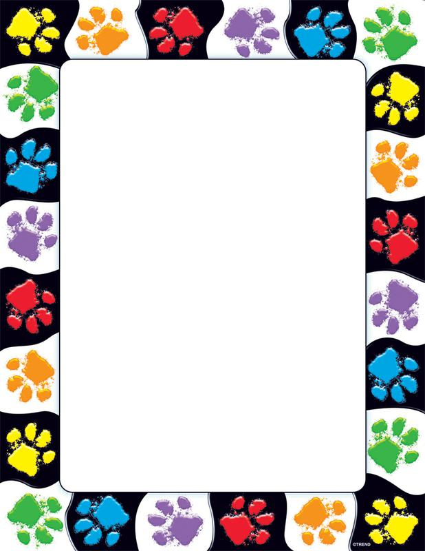 This is a graphic of Adaptable Paw Patrol Borders