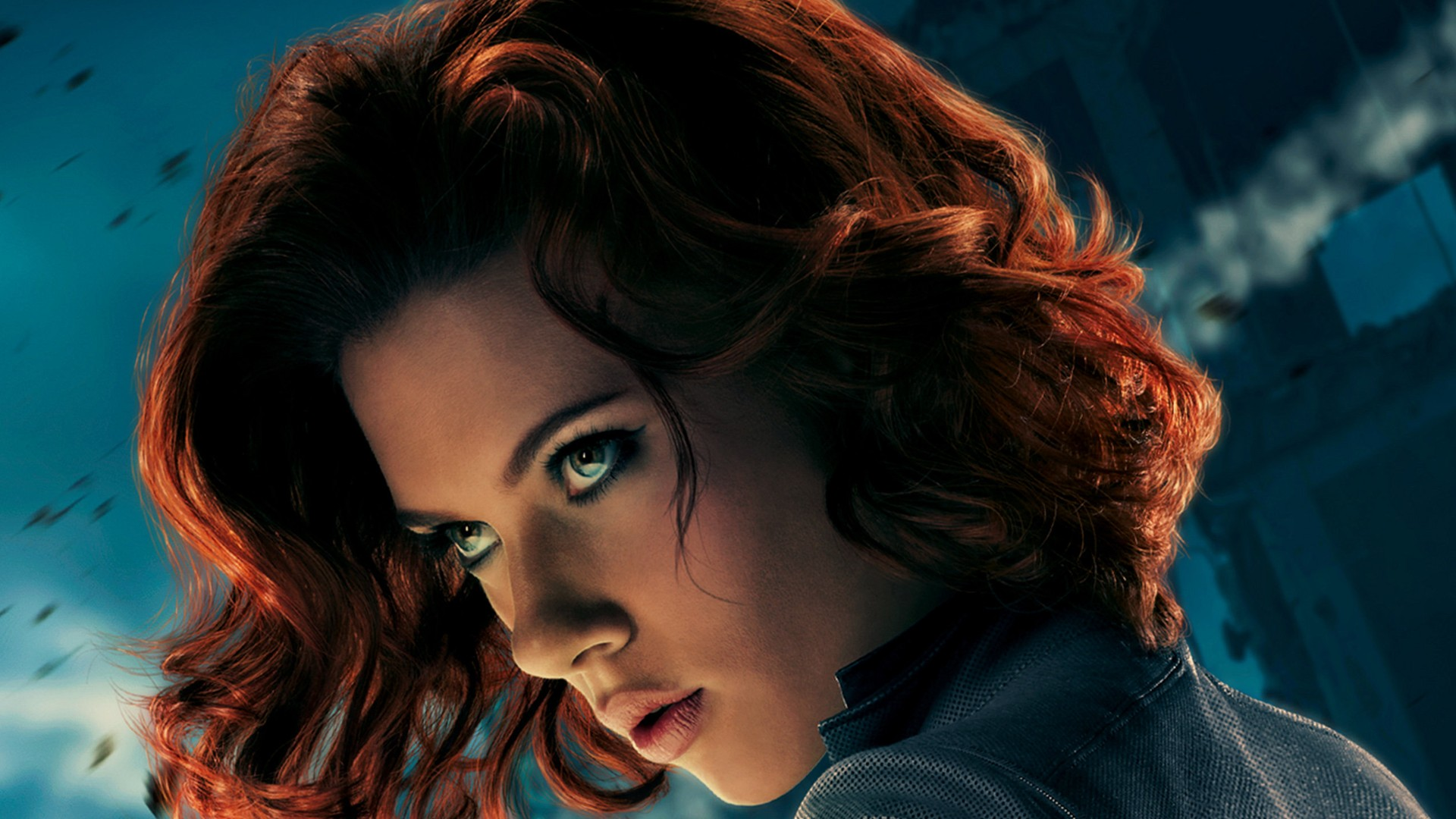 Black widow marvel comics the avengers movie wallpaper 1920x1080