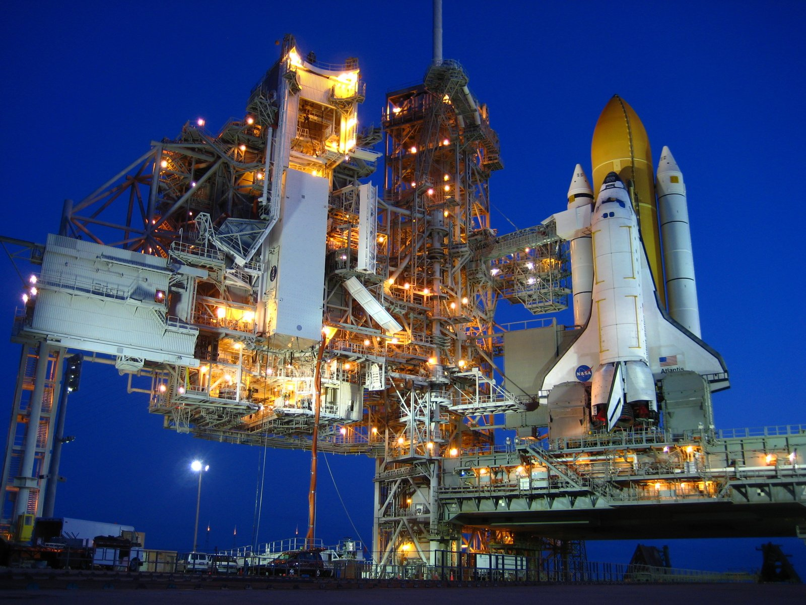 Rockets Space Shuttle NASA launch pad wallpaper | 1600x1200 | 233806 ...