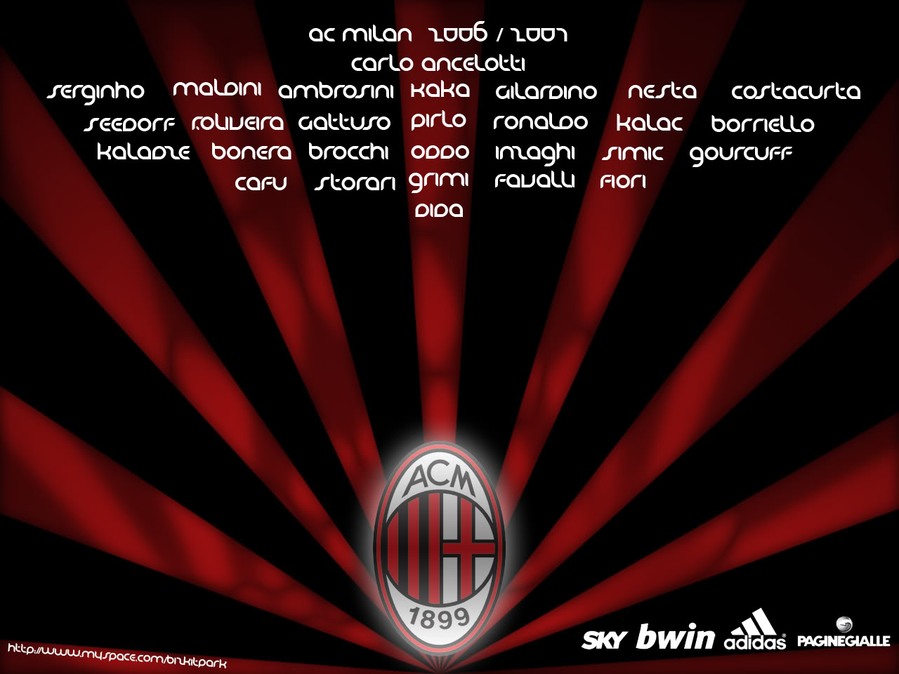 Ac Milan Wallpaper 13890 Hd Wallpapers in Football   Imagescicom 1280x960