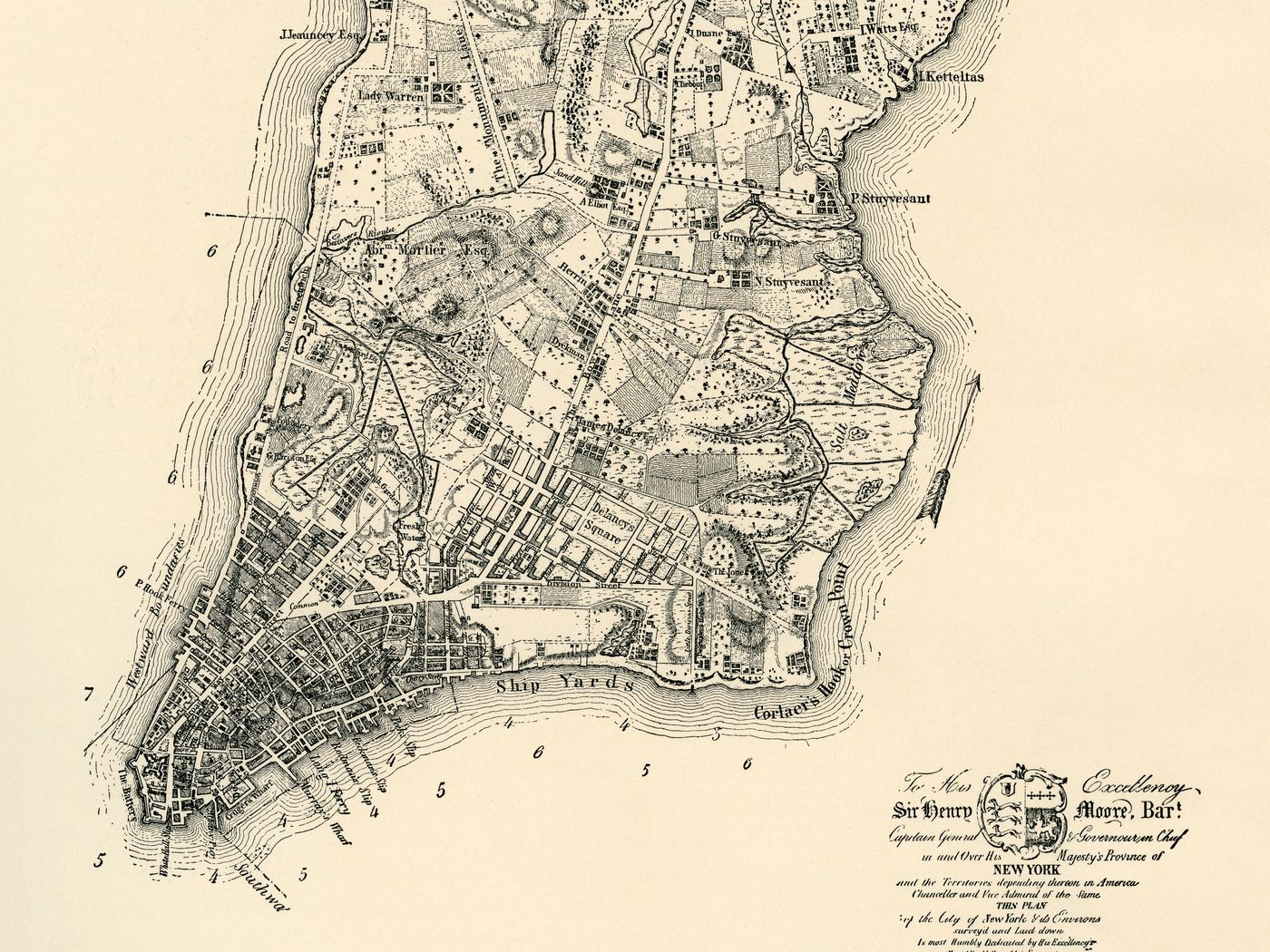 A walking tour of 1767 New York   Curbed NY 1400x1050