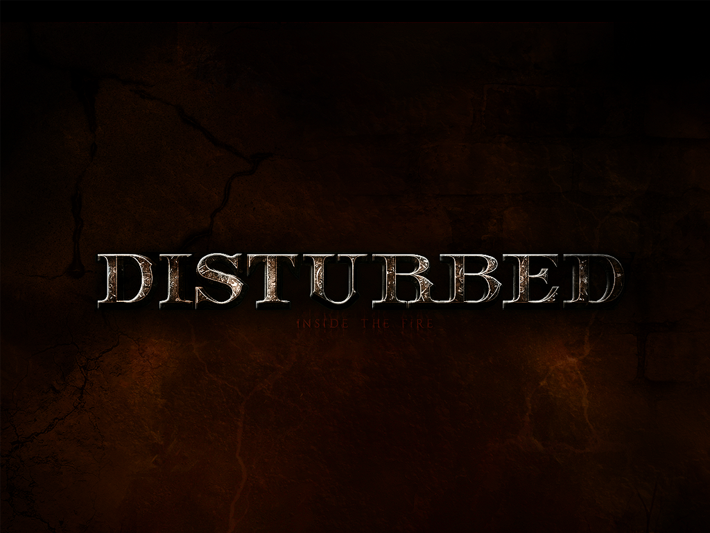 disturbed logo wallpaper - HD1024×768