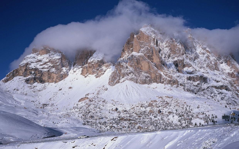 Winter Mountain Wallpaper 1240x775