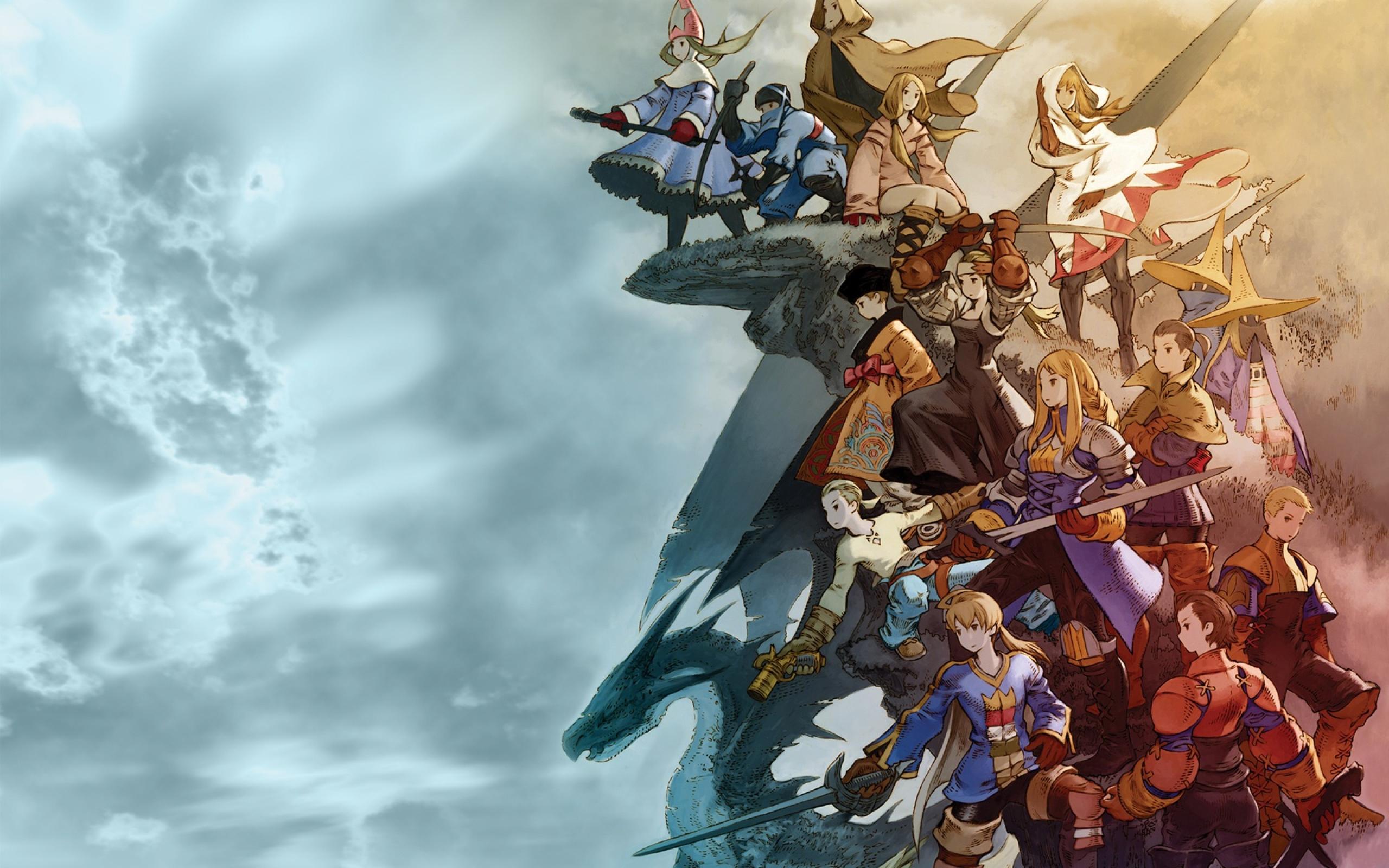 final fantasy wallpaper Final Fantasy Tactics 2560x1600