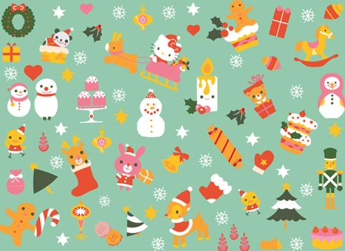 Hello Kitty Weihnachtsbilder.49 Christmas Tumblr Theme Wallpaper On Wallpapersafari