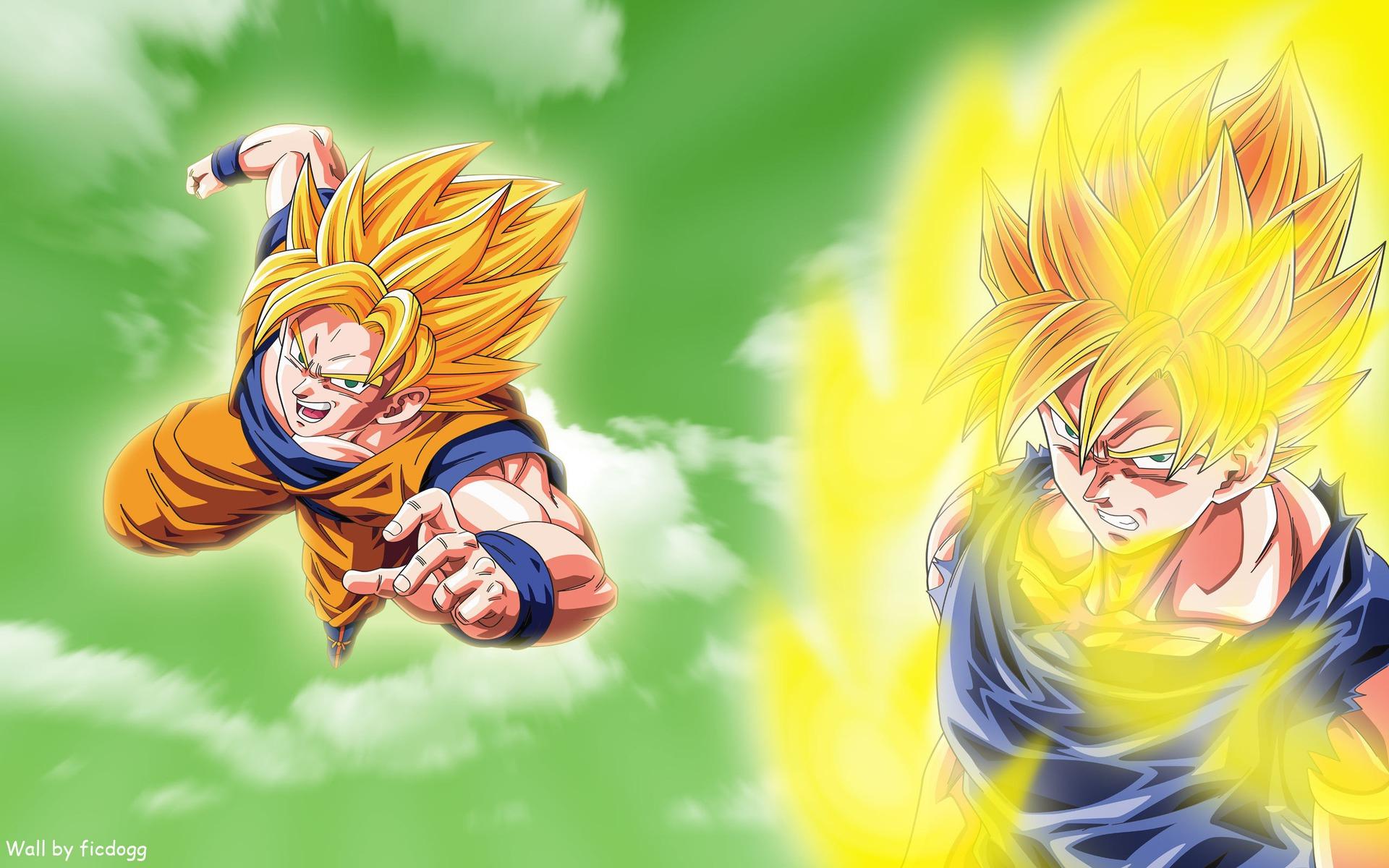 Son Goku Wallpaper 1920x1200 Son Goku Dragon Ball Z Super Saiyan 1920x1200