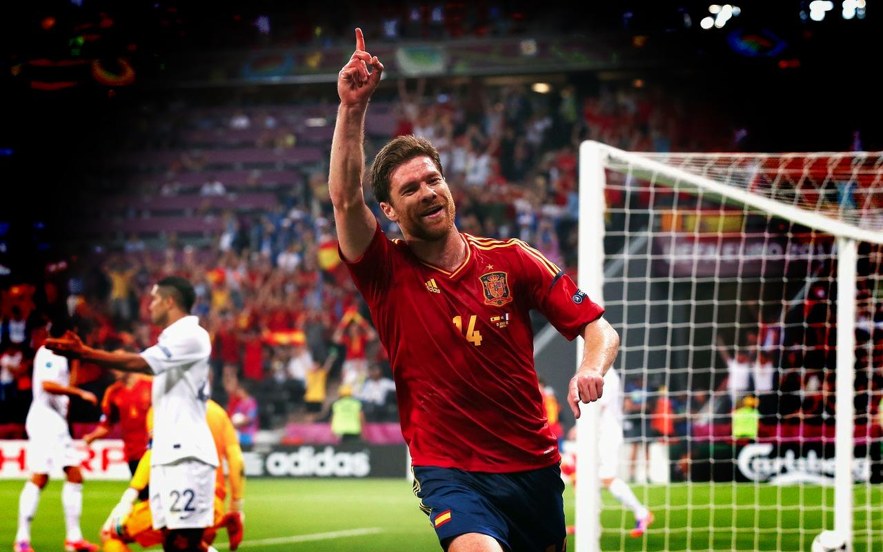 Football Wallpapers Xabi Alonso   Real Madrid   Spain 1280x800