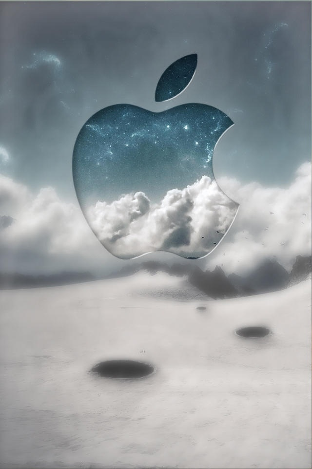 Apple Clouds Iphone Wallpapers 640x960 Hd Iphone 4 Retina 640x960