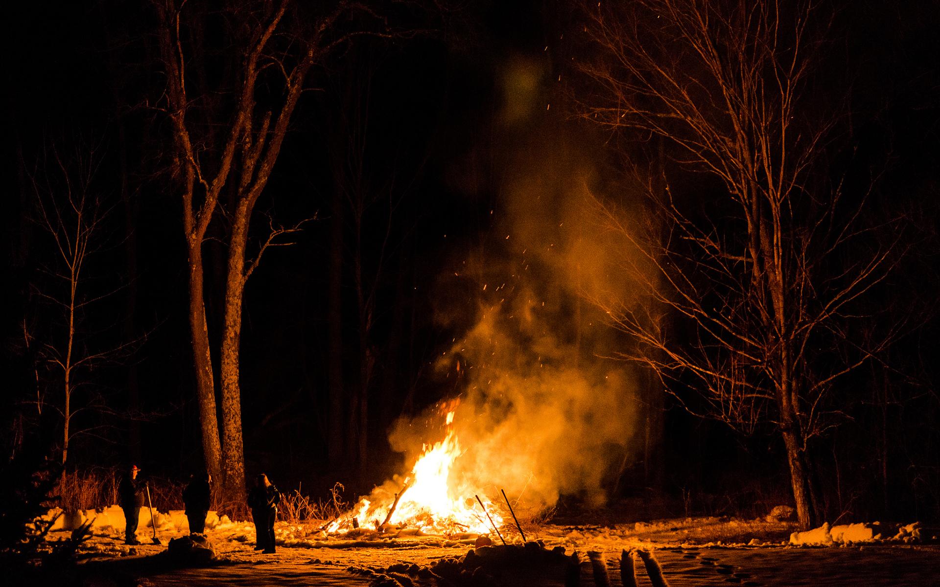 Campfire Wallpaper WallpaperSafari
