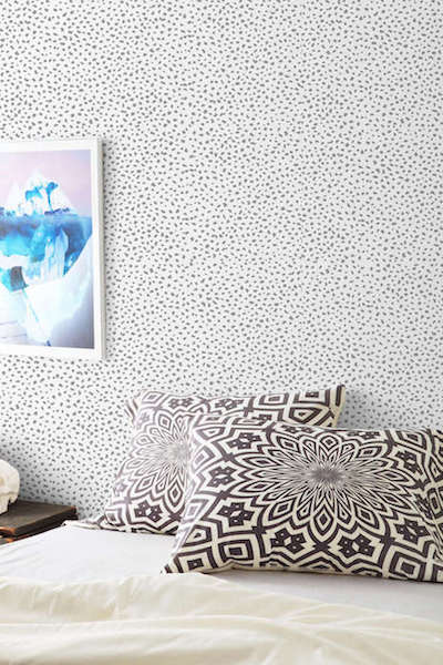 Chasing Paper Speckle Removable Wallpaper 400x600
