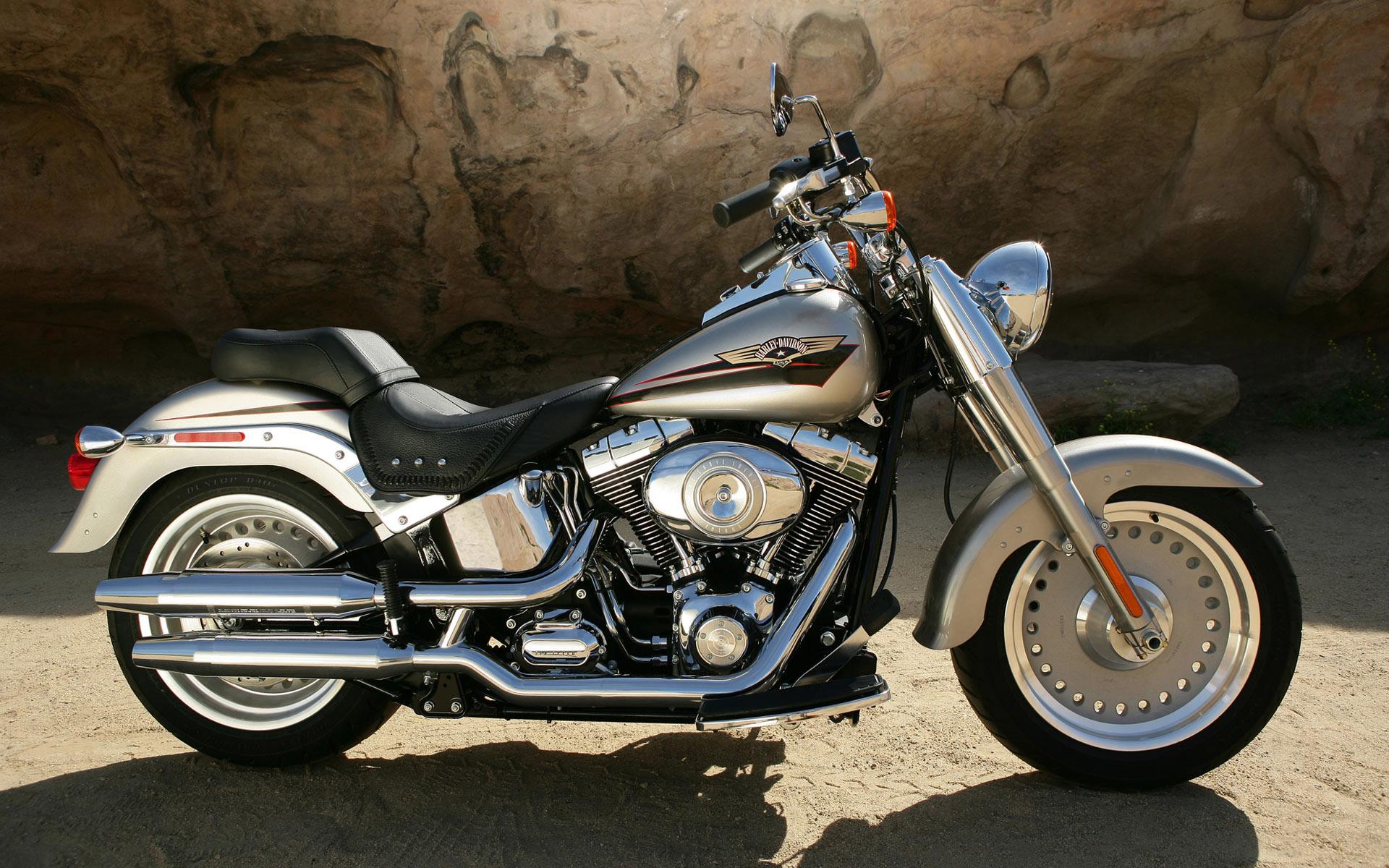 Kids n funcom Wallpaper Harley Davidson widescreen 1920x1200