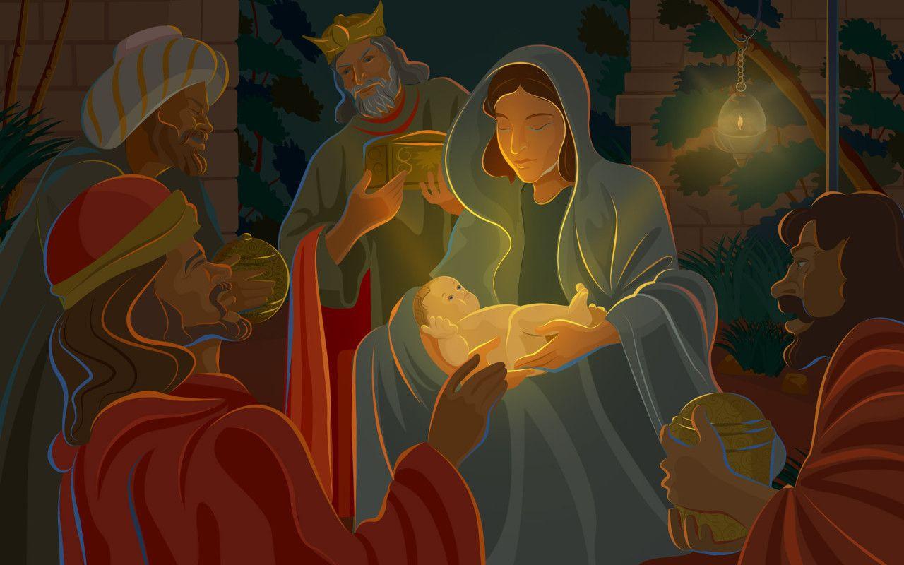 39 Baby Jesus Desktop Wallpaper On Wallpapersafari