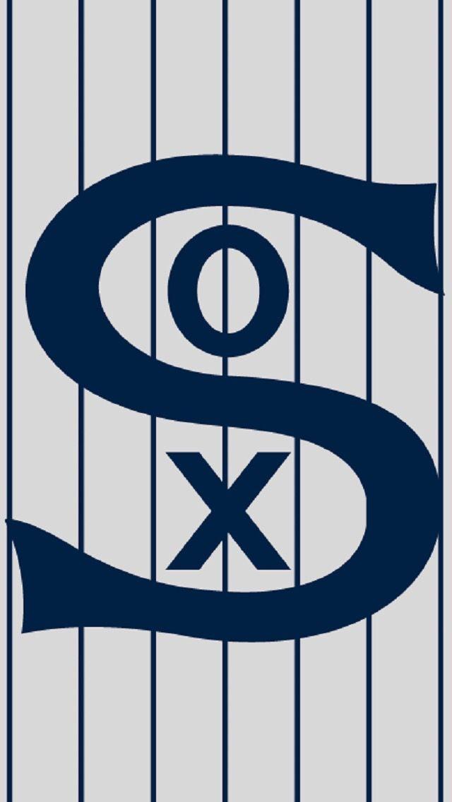 Chicago White Sox 1917 White sox logo Mlb wallpaper Baseball 640x1136
