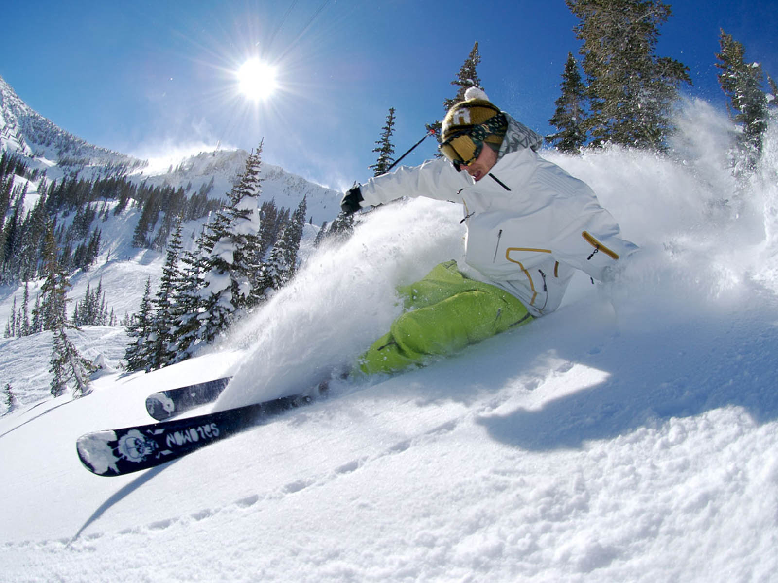 Skiing Wallpapers Images Photos Pictures And Backgrounds For 1600x1200
