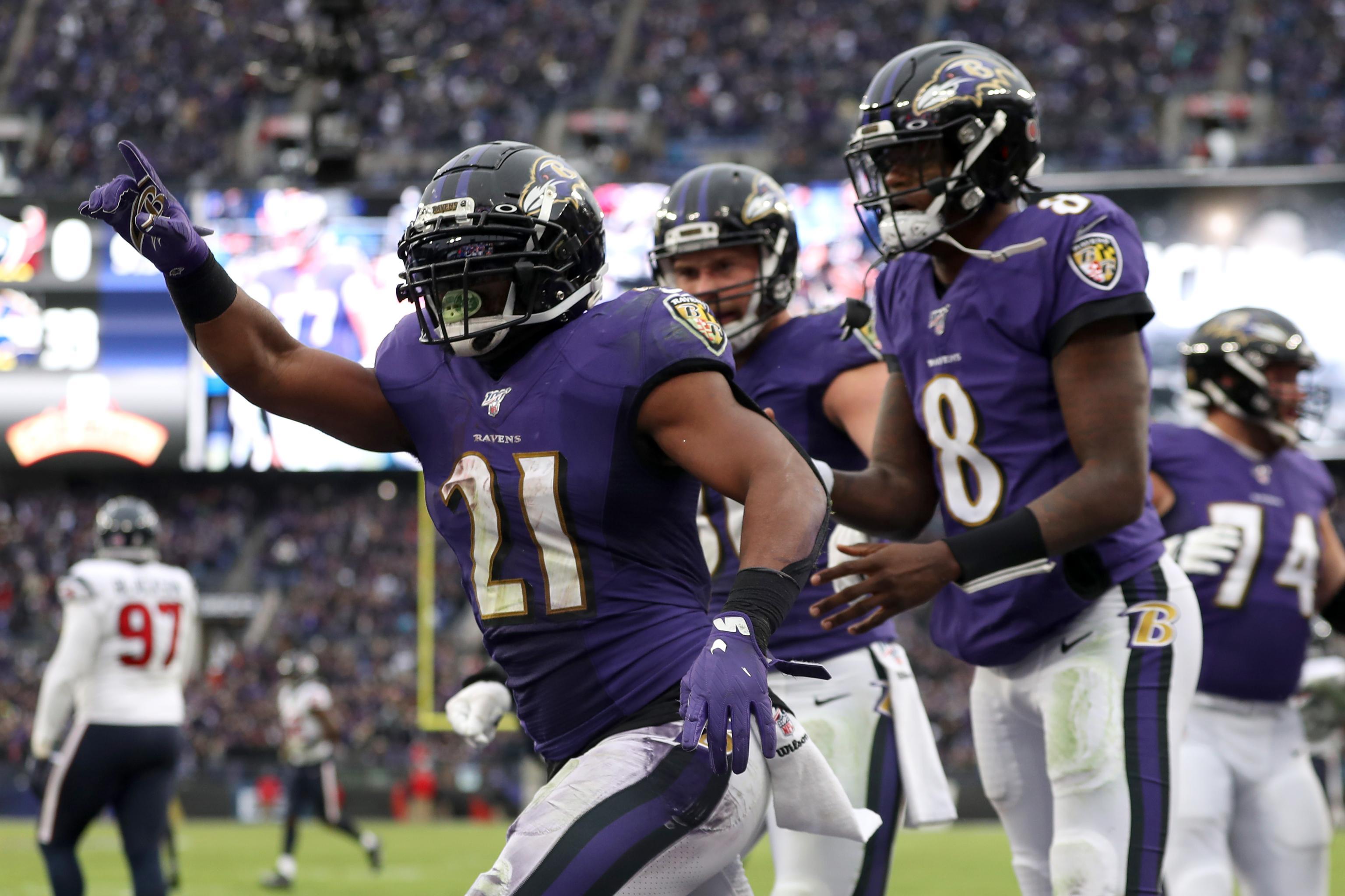 Ravens Mark Ingram Lamar Jackson Leads MVP Race Says Critics 3072x2048