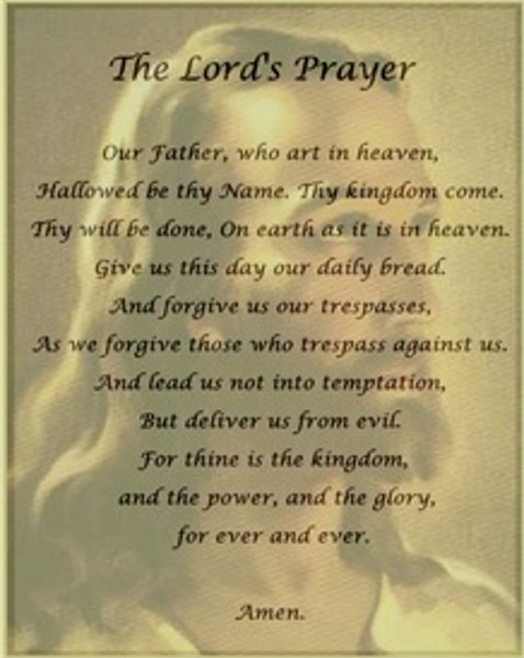 the lords prayer iphone - photo #4