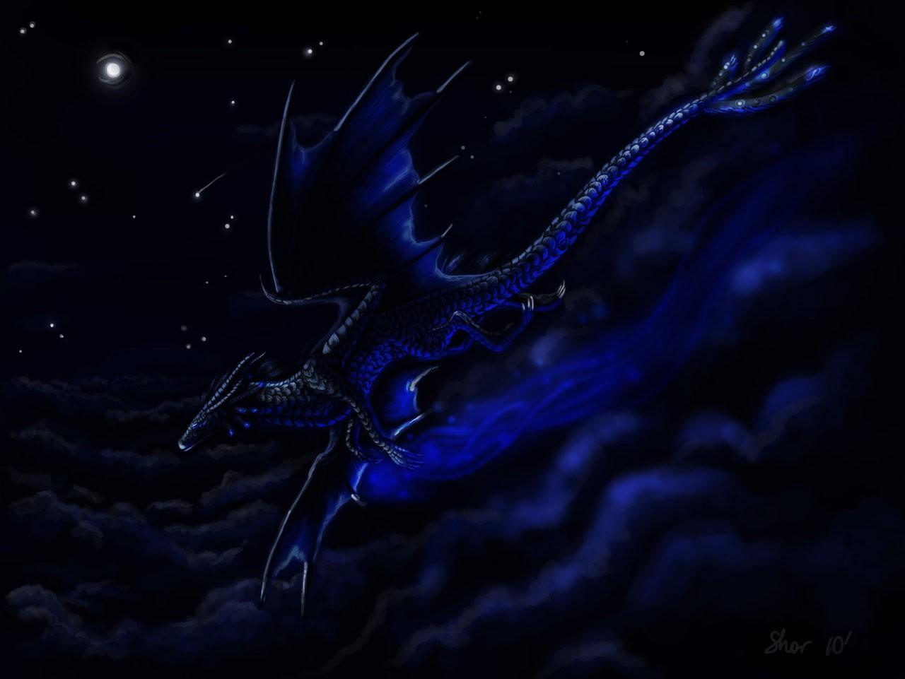 midnight dragon Wallpaper Background 27935 1280x961